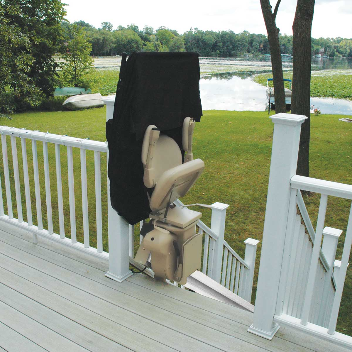 Elite Outdoor Straight Stair Lifts - Accessibility At Home